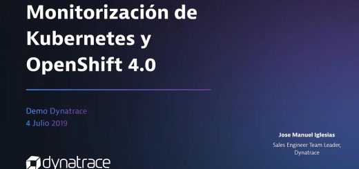Monitorización Kubernetes Dynatrace video