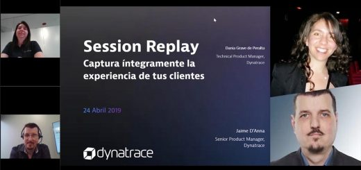 Webinar Sesion replay Dynatrace